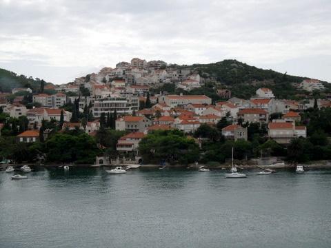 Sailing into Dubrovnik