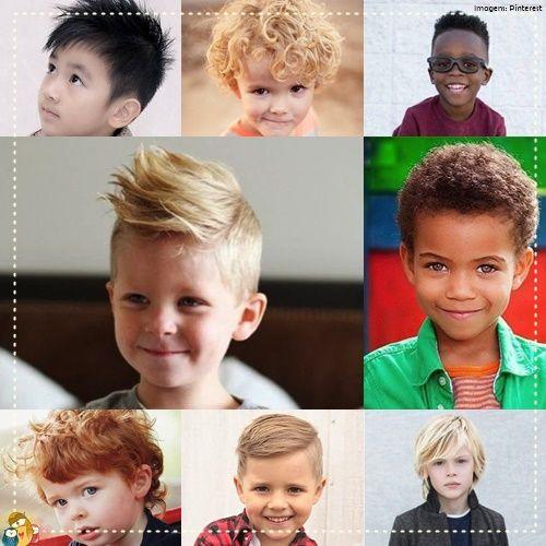 50 ideias de corte de cabelos para meninos