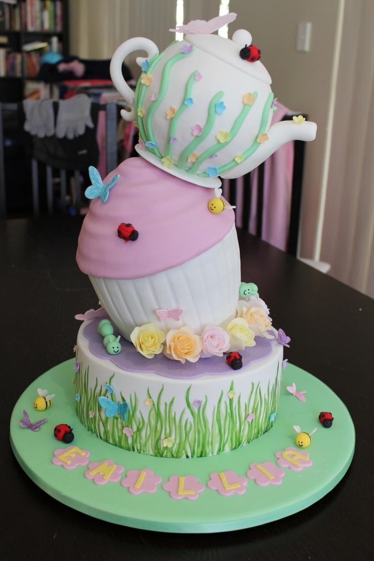 82 best Birthday - Tea Party images on Pinterest   Tea party ...