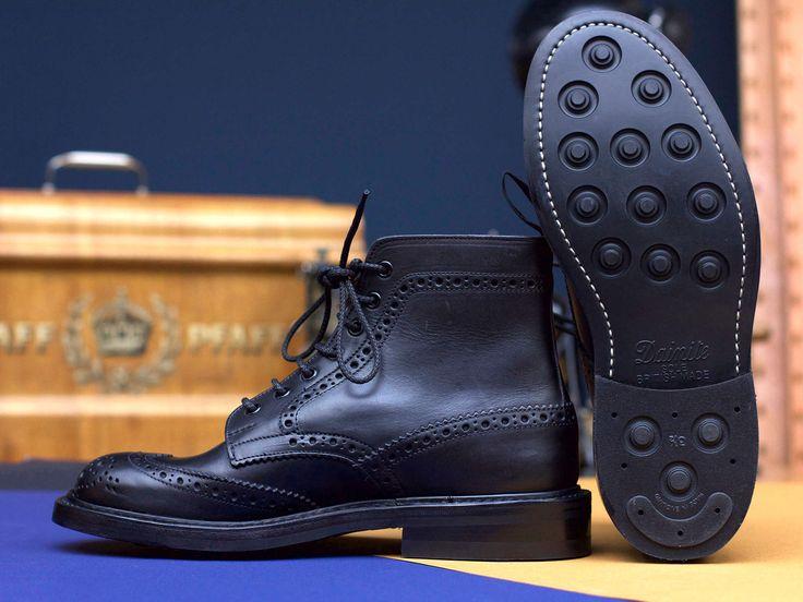 Trickers x Tenue de Nîmes Stow Boot All Black