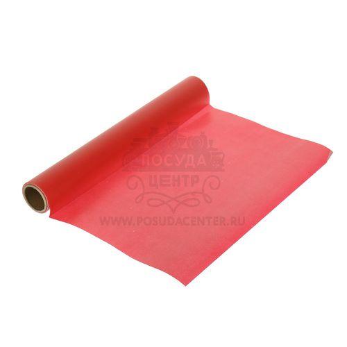 Бумага для выпечки Флер  Фэйт красная, 500х30 см