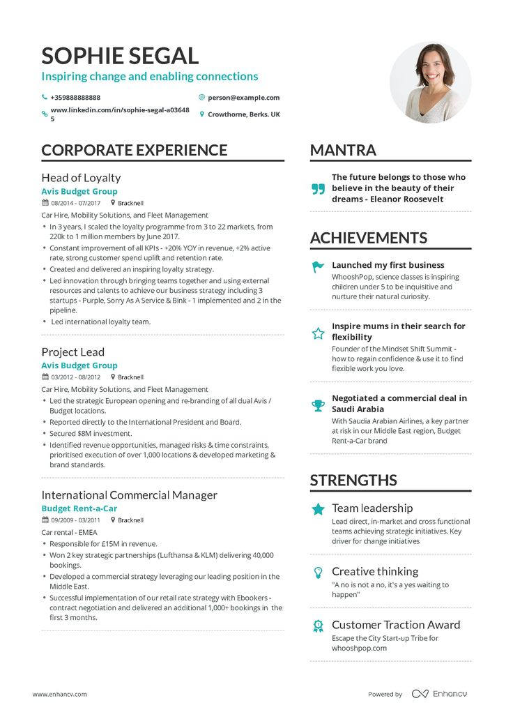 Department Head Resume Example and guide for 2019 Resume