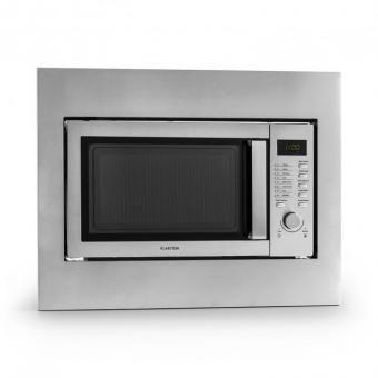 Steelwave Microondas 23l 800W Grill 1000W Acero Inox Marco Montaje