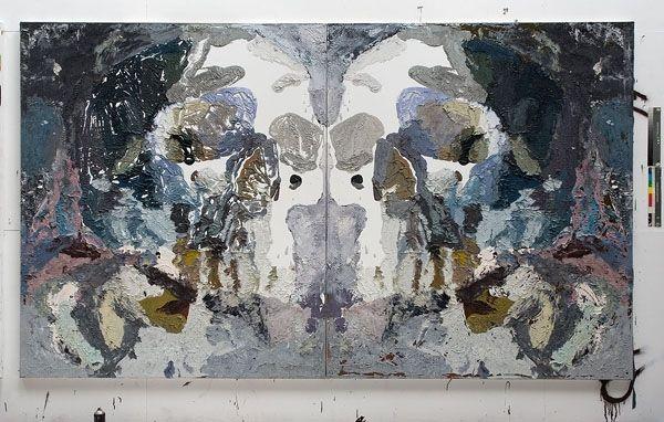designjournal11: Bedford Downs Rorschach 2008 by Ben Quilty
