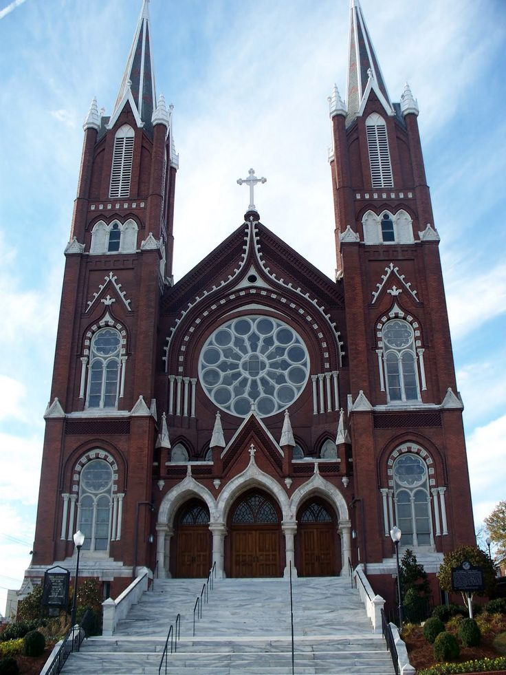 Macon, Georgia... beautiful churches