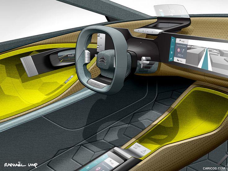 Interior Sketch Car Interiors Automotive Design Transportation Ui Illustration Futuristic Development