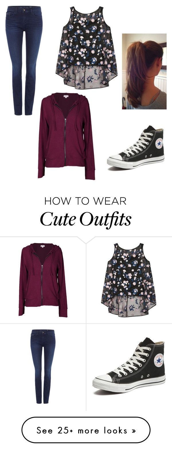 """An outfit I would wear!!❤️❤️"" by makimo-1 on Polyvore featuring Calvin Klein, Erdem, Velvet by Graham & Spencer, Converse, women's clothing, women, female, woman, misses and juniors"