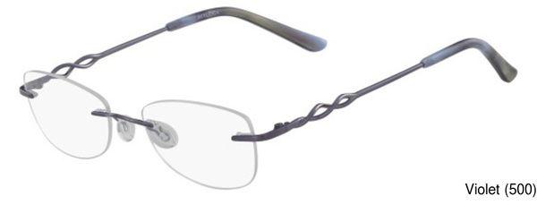 Marchon Airlock Essence 204 Eyeglasses Frames Prescription Lenses Fit