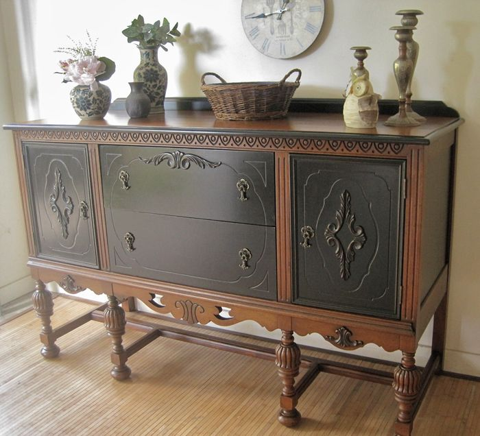 ANTIQUE SIDEBOARD NO. 2 - What's your preference?