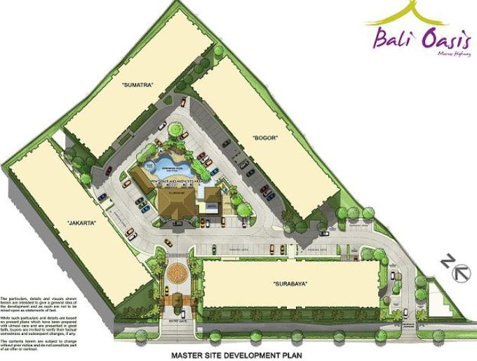 BALI OASIS Pasig by Filinvest Phase 1 Site Development Map