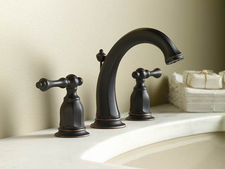 The Kohler Oil Rubbed Bronze Direct For Kelston Widespread Bathroom Faucet With Ultraglide Valve Technology Free