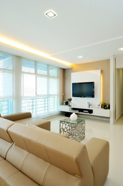 Qeeple Interior Design And Furnishing HDB 5 Room Flat In Central Area