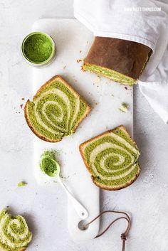 Matcha Swirl Cake / Matcha Kuchen mit Spirale