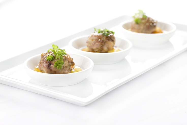 Baby Chicken with Apricot Sauce- Ginger Man Catering and Private Chef Service