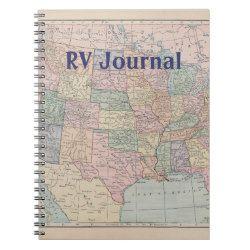 RV Journal Spiral Note Book