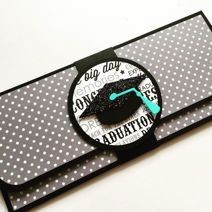 Graduation money envelope. What better way to wrap a cash gift ^_^