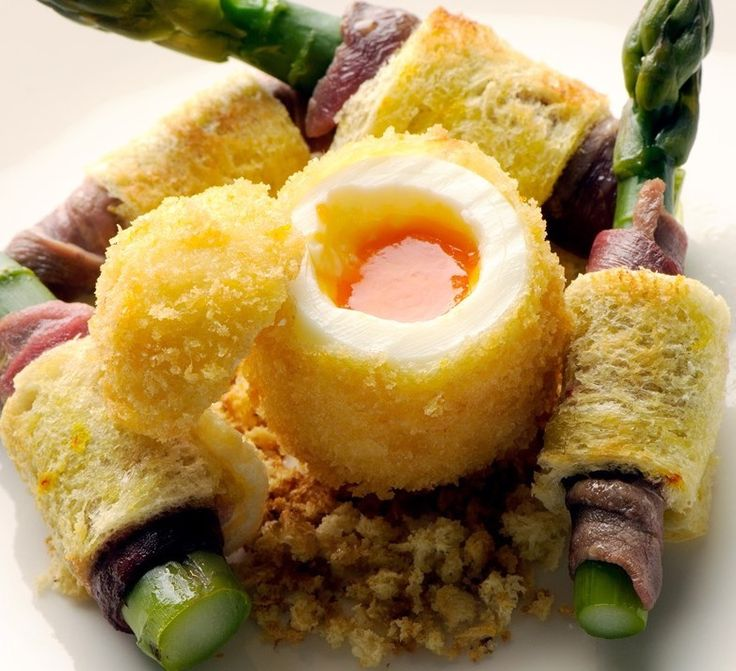 Egg and soldiers will never be the same again with this stunning recipe from Nathan Outlaw, complemented with asparagus adding a burst of fabulous flavour.