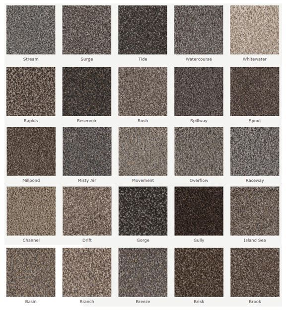 New Carpet From Phenix Flooring These Colors Are Available In 3 Different Weights Riverbend Ii Stoneybrook Ii And Creekside Ii Flooring Carpet New Carpet