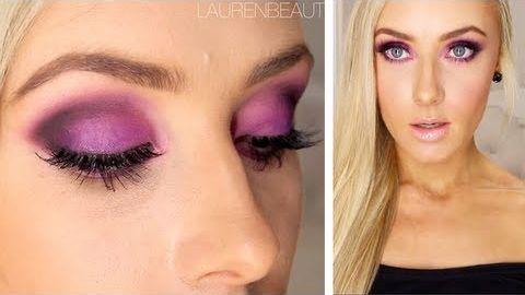 Stunning purple eyeshadow tutorial! — mkup.ca