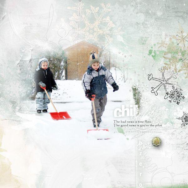 Time flies  Anna Aspnes: Artplay Palette Snow Fun
