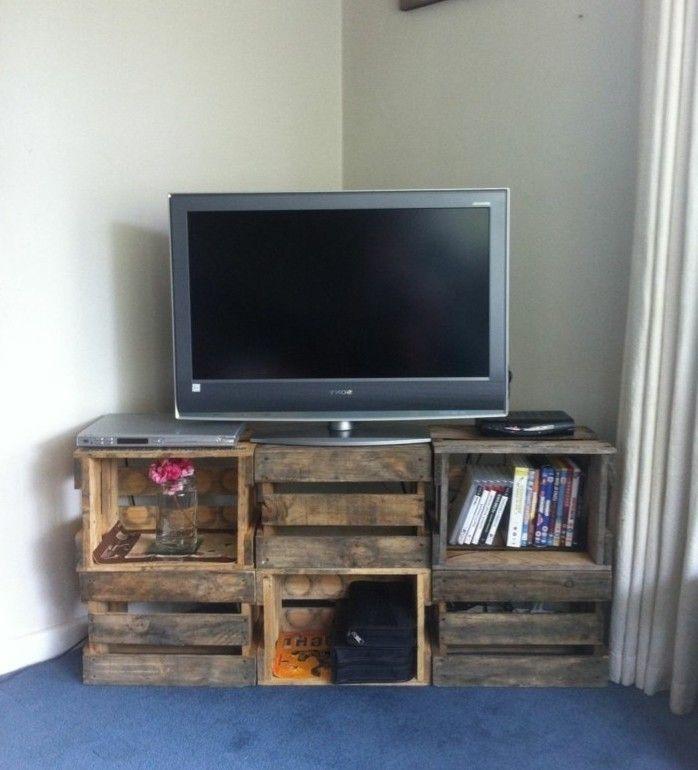 Fabriquer Un Meuble Tv Instructions Et Modeles Diy Fabriquer Meuble Tv Fabrication Meuble Et Meuble Tv