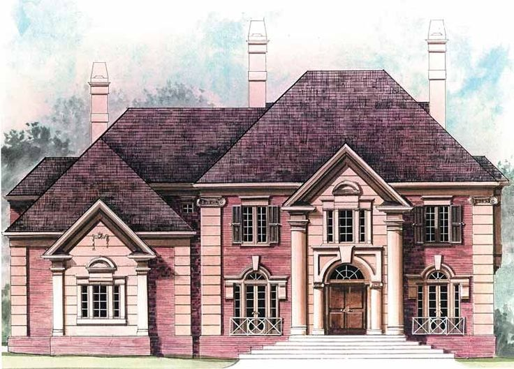 1000 images about 300 000 dream house plans on pinterest for Neoclassical house plans
