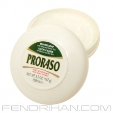 This is the best shaving soap available in the market. FYI, proraso is making the shaving products for Bath and Body Works