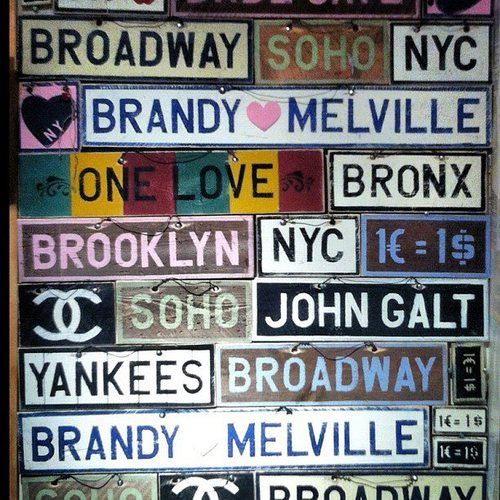 1000+ Ideas About Brandy Melville Signs On Pinterest