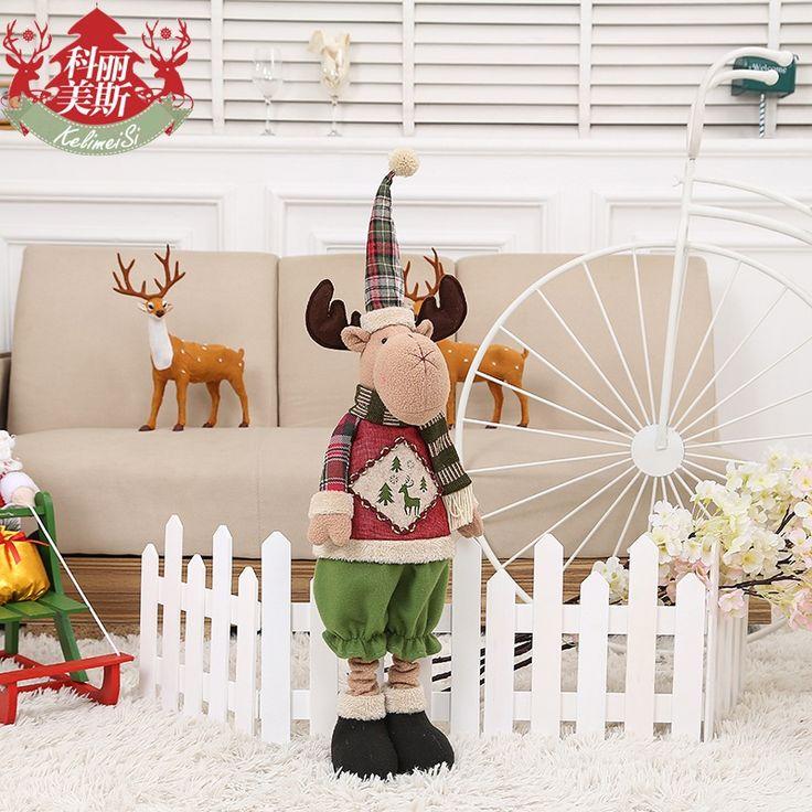 Новый плюшевый снеговик Рождественский орнамент пожилых лосей телескопический стержень украшения подарка праздника -tmall.com Hotel Arcade Bar Lynx