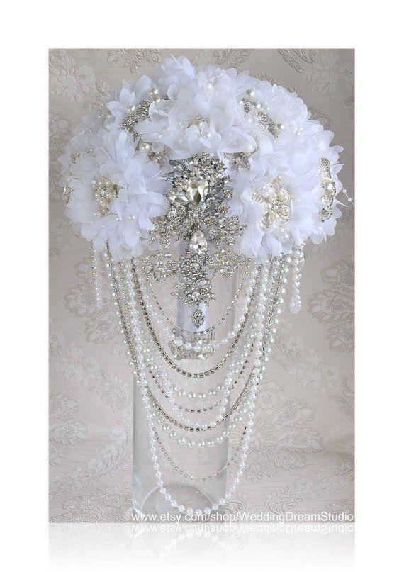 Flower Wedding Crown White Floral Hair Vine Bridal Bridesmaids