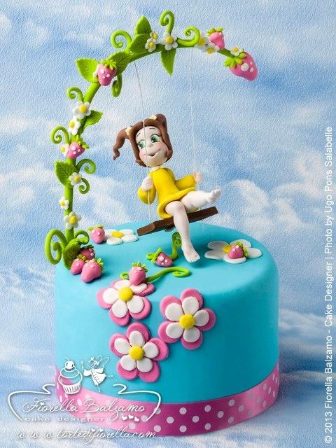 Sweet baby garden cake Fiorella Balzamo