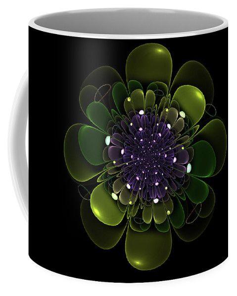 Аннотация кружка кофе с цифровое искусство цветочные случайные Фрактальные Сергея Носова