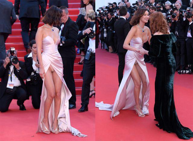Tak bosan Bella Hadid pamerkan Vagina di hadapan puluhan kamera yang siap mengabadikan bagian sensitifnya, hal ini membuat Bella menjadi perbincangan  Link Sumber : http://arsipkita.com/lagi-bella-hadid-pamer-vagina-di-depan-umum-4148/#ixzz4hjVcISwZ