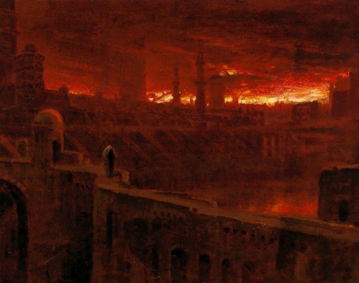 Albert+Goodwin-Christian Leaving the City of Destruction (1895)