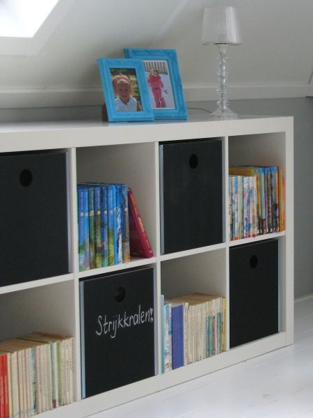 Expedit + Pränt (painted), Ikea