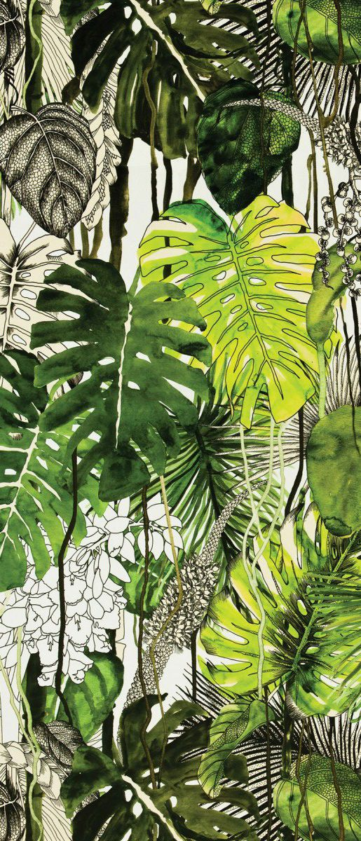 Christian Lacroix fabric Monstera