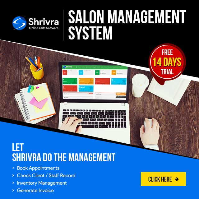 Shrivra Salon Software for #Easy and #Flexible #Appointment - invoice system free