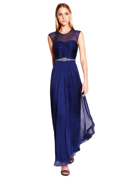TRUESE - Romance Maxi Dress - Indigo - Evening Wear - Formal Dress - Gown - Wedding - Formal - Ball - Graduation $319.90