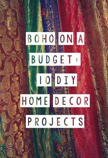 Quirky Bohemian Mama A Mom Blog Boho On Budget 10 Diy