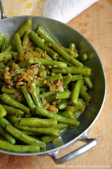 Indian-style Green Beans // #recipe #greenbeans