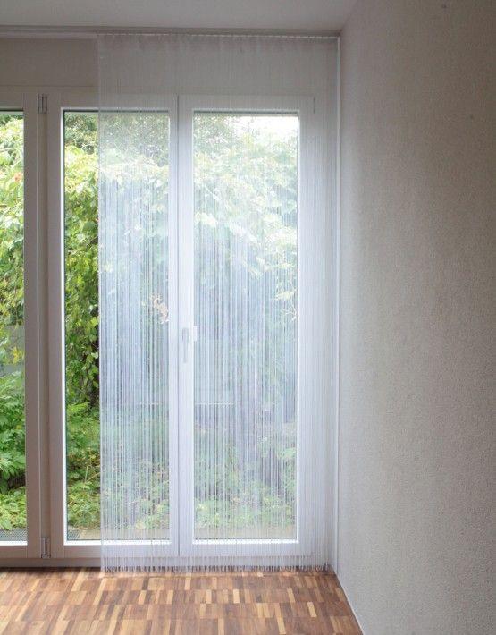 Die besten 25 fadenvorhang ideen auf pinterest for Fenster 120x100