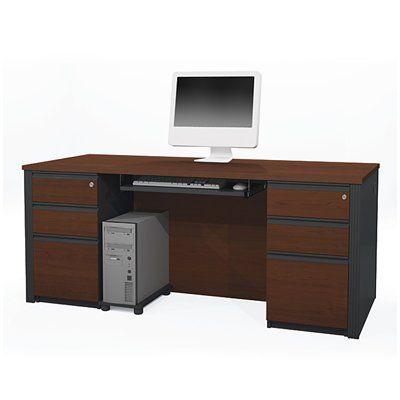 Bestar 998 Prestige + Executive Desk Set