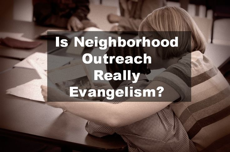 relationship between evangelism and social action
