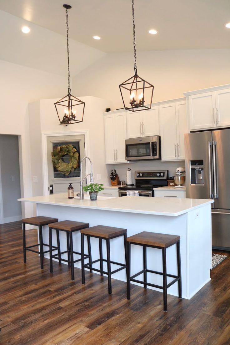 Modern Farmhouse Kitchen Reveal | Kitchen design open ...