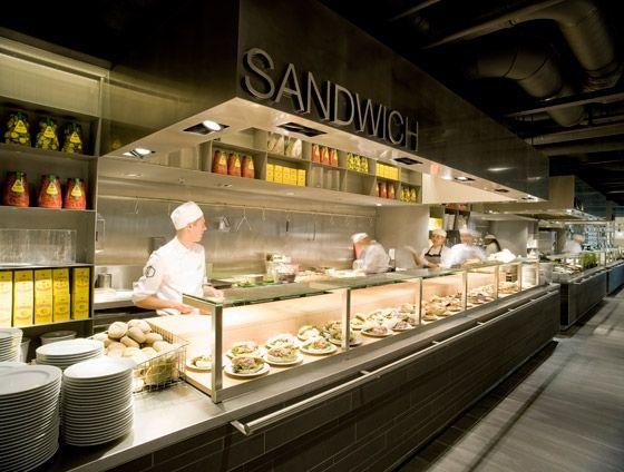 De bijenkorf kitchen bar fabrique et comptoir for Food bar 36 cafe