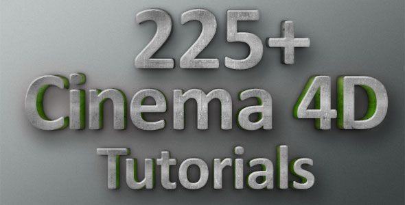 225+ Cinema 4D Tutorials for Beginners and Professionals | AnimHuT