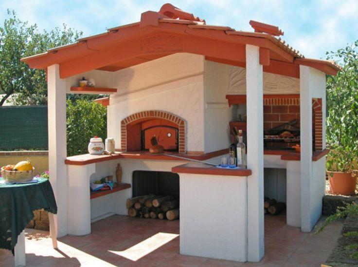 Barbecue con forno Siena