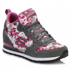 Flex Appeal 2.0-Tropical, Chaussures Multisport Outdoor Femme, Noir (Black/Multi), 39.5 EUSkechers