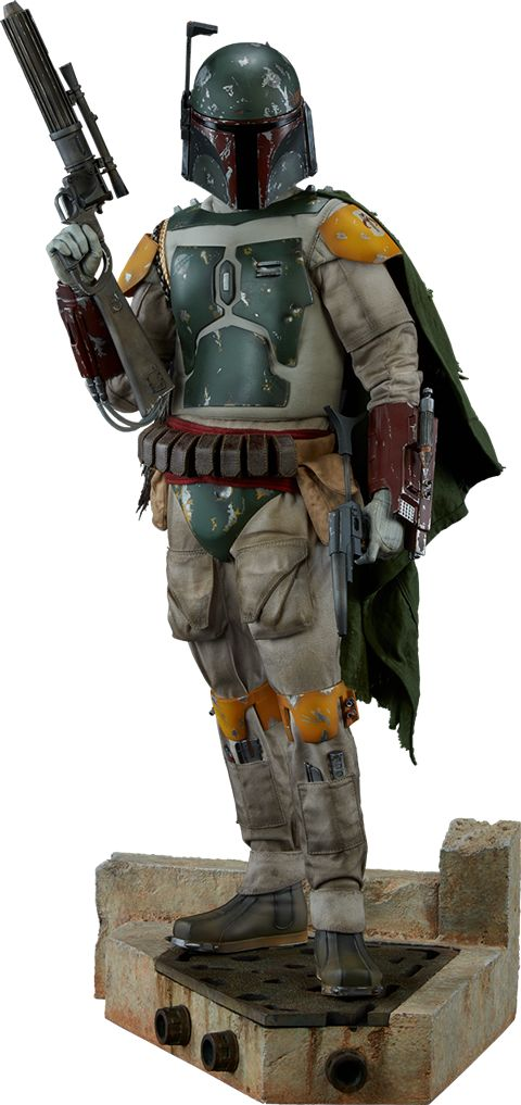 Star Wars Boba Fett Premium Format(TM) Figure by Sideshow Co   Sideshow Collectibles