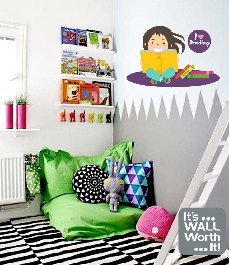 Best Its WALL Worth It Images On Pinterest Colour Chart - Vinyl wall decals books